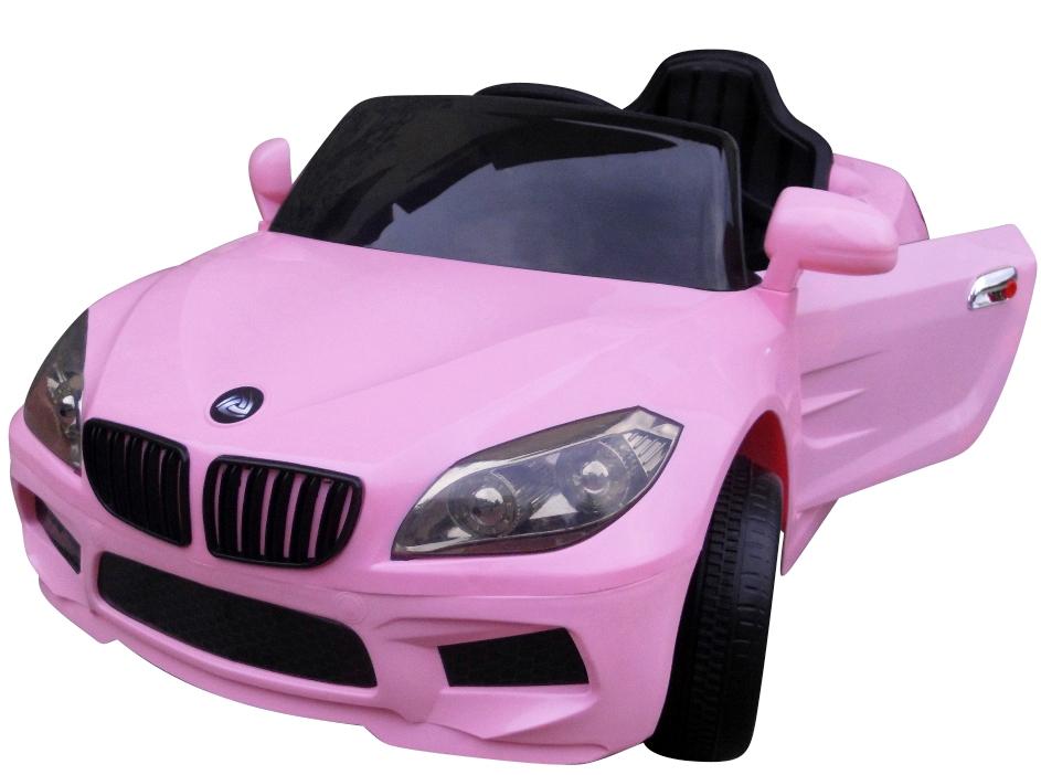 Elektrické autíčko M-Sport - růžové