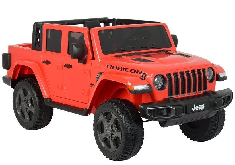 Dětské elektrické autíčko Jeep Rubicon - červené
