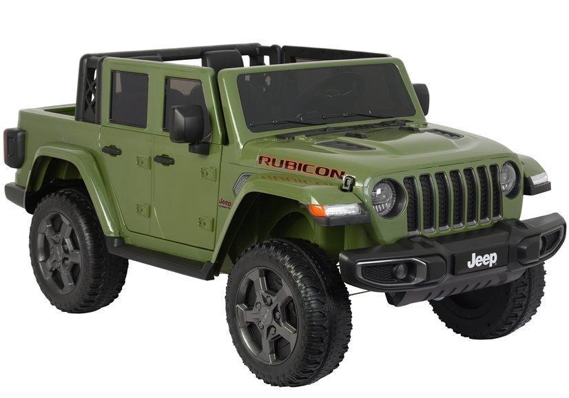 Dětské elektrické autíčko Jeep Rubicon - želené