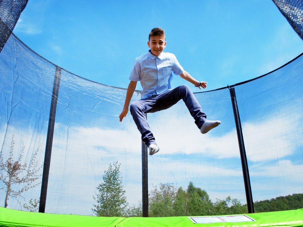Zahradní trampolína SKY FLYER RING 2v1 366 cm
