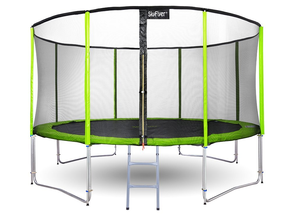 Zahradní trampolína SKY FLYER RING 2v1 427 cm