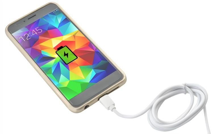 Kabel USB/USB C-TYPE 1m bílý