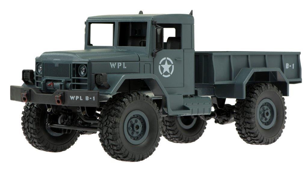 RC vojenské auto 1:16, 2.4GHz
