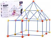 Dětská stavebnice stavění pevnosti - 81 dílů