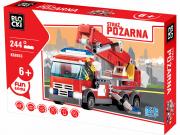 Stavebnice hasiči auto, 244 dílů