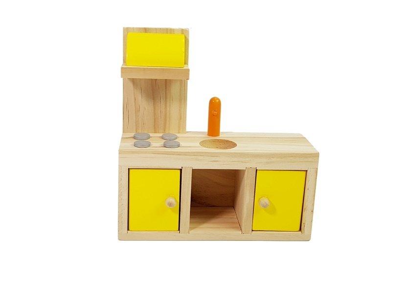 Dřevěný domeček pro panenky 4109