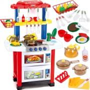 Dětská kuchyňka se zvuky, myčkou a tekoucí vodou
