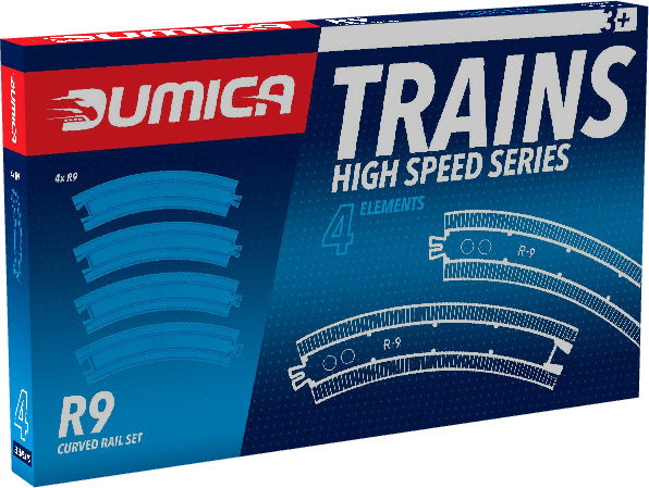 Přídavné koleje Dumica R9