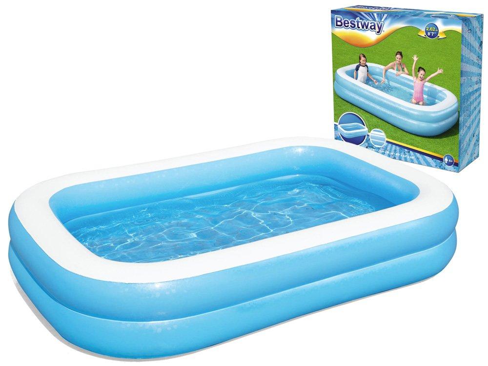 Dětský bazén Bestway 54006 Family 262x175x51 cm