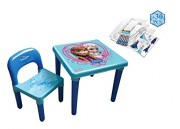 Disney stůl se židličkou Frozen