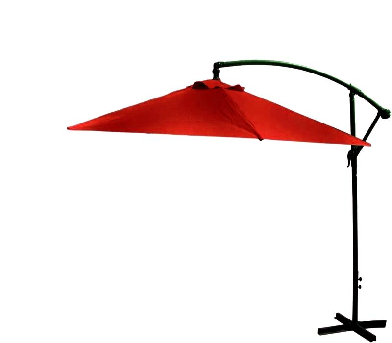 Slunečník VeGA 300 - tmavě červený