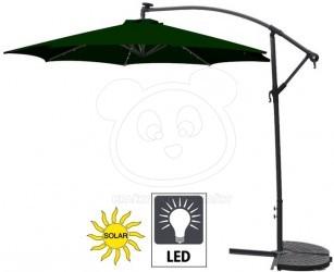 Slunečník s LED osvětlením 300 cm