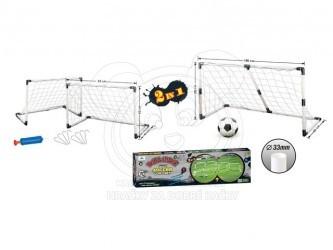 Dětská fotbalová branka 2v1