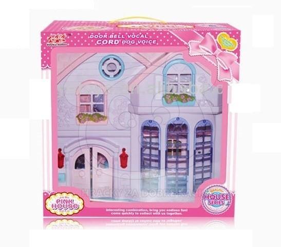 Domeček pro panenky, 72 cm