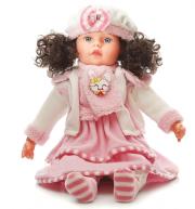 Mluvící a zpívající panenka 60 cm