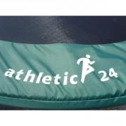 Kryt pružin na trampolínu 488 cm ATHLETIC24 zelený