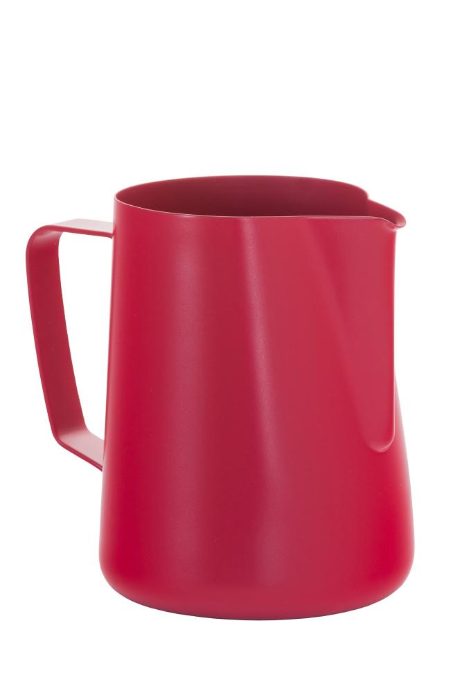 Konvička na mléko červená