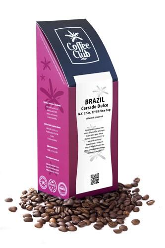 Káva Brazil Cerrado Dulce