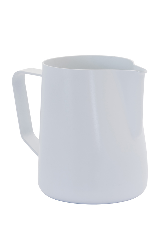 Konvička na mléko - bílá