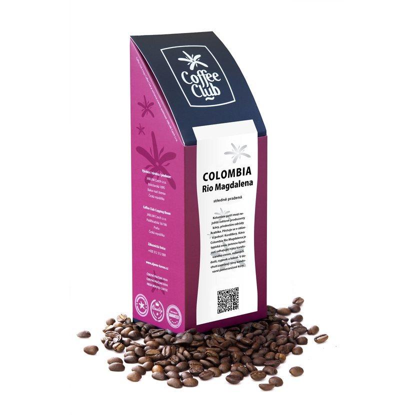 Káva Colombia Rio Magdalena