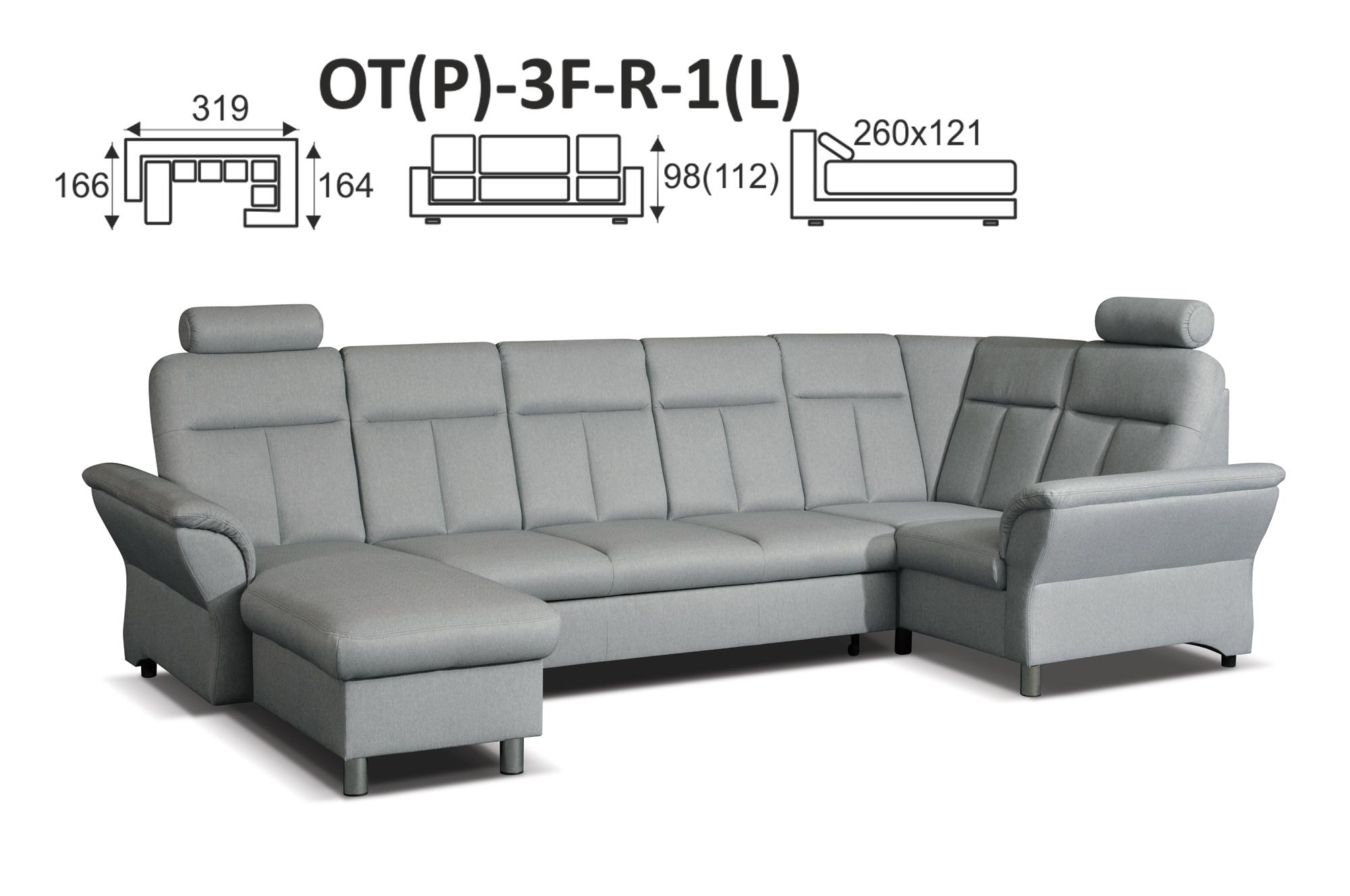 MEBTOR202 modulová sedací souprava