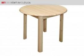 B 142 Metoděj dřevěný jídelní stůl