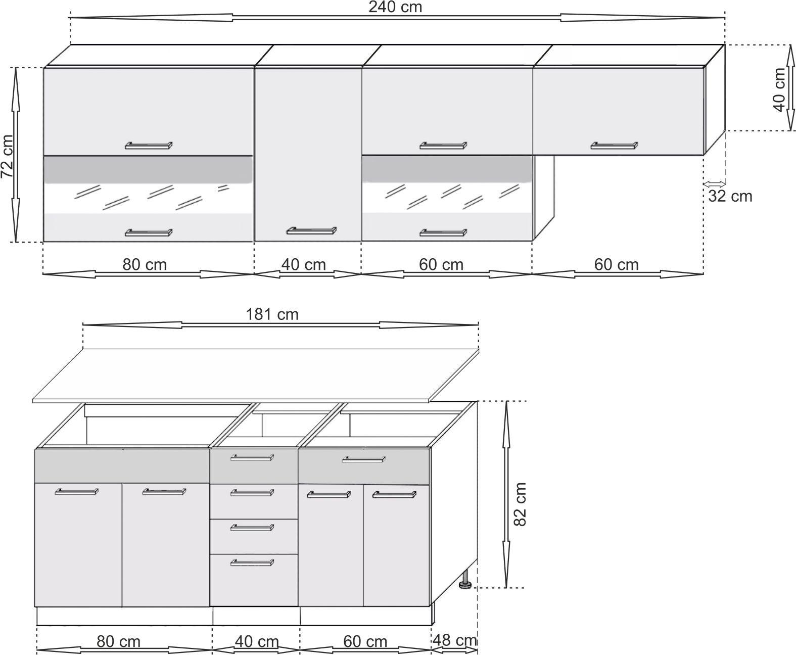 SCASI kuchyňská sestava modulová