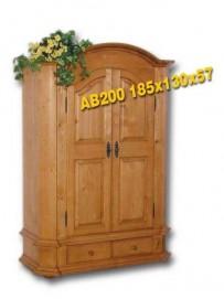 AB200 dvoudveřová skříň