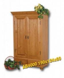 AB4000 šatní skříň 2dv.