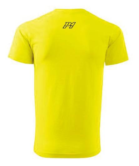 P1 Racewear tričko žluté