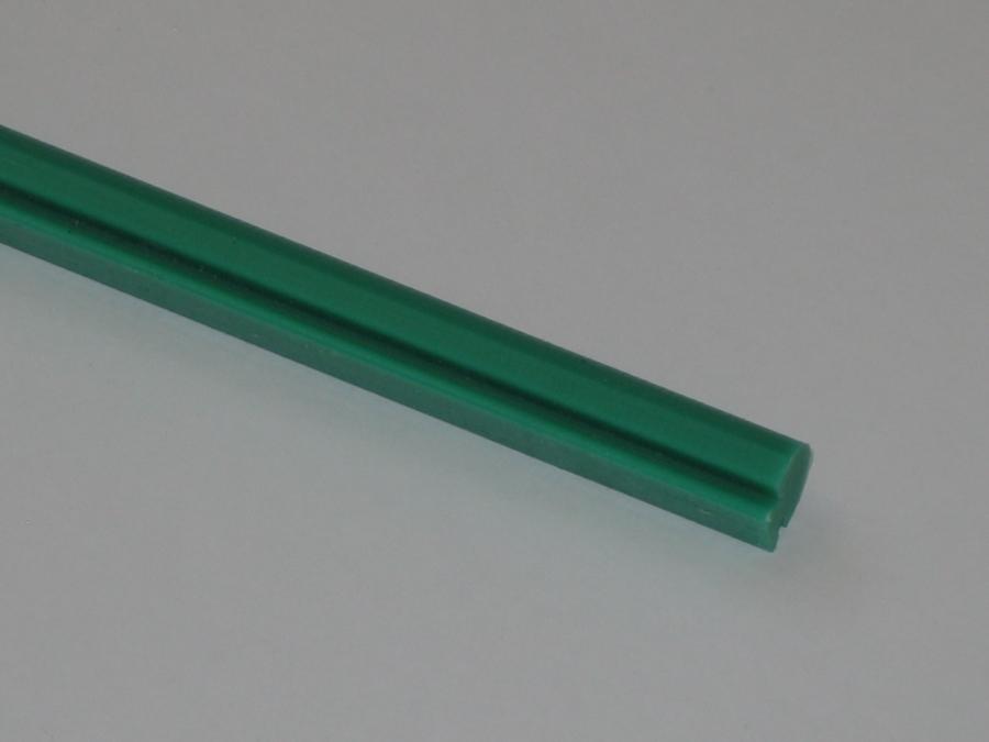 Lišta kluzná, délka 2m, výška 14 mm (cena za bm); 2 bm = 1 ks; možná objednávka pouze celého kusu!