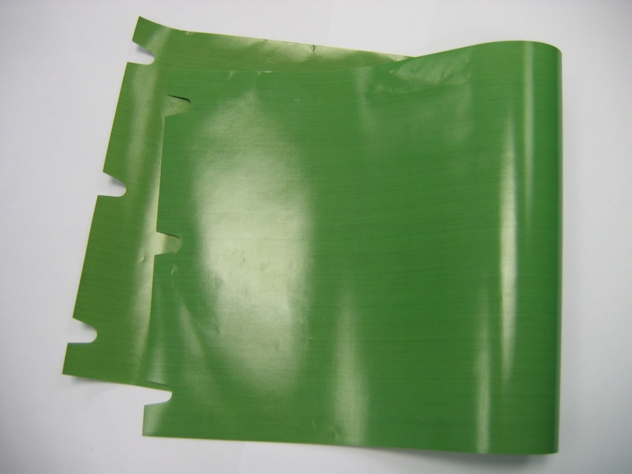 Teflon 230x555 mm zelený  (AKS 4020)