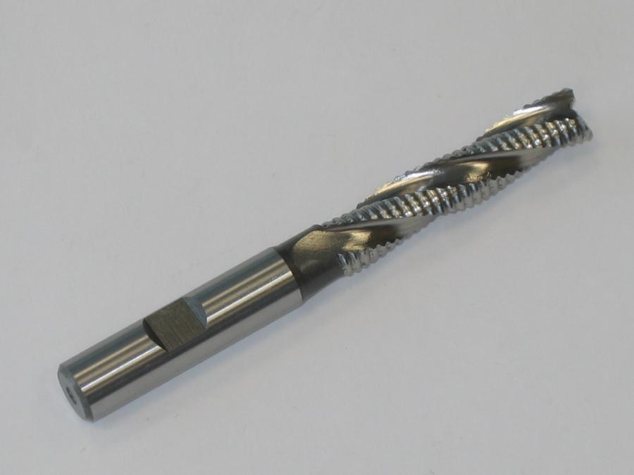 Fréza HSS spirálová 3břitá 10x53-110/10 mm
