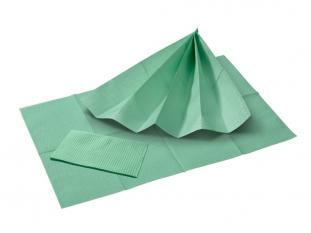 Dentální roušky Premium zelené