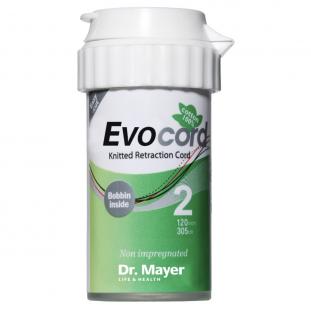 Retrakční vlákno Evocord #2 zelená, silné