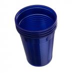Plastové kelímky Dr. Mayer modré