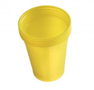 Plastové kelímky Dr. Mayer žluté