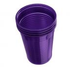 Plastové kelímky Dr. Mayer fialové