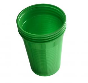 Plastové kelímky Dr. Mayer zelené