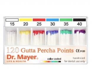 Gutaperčové čepy Dr. Mayer