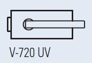 Zámek LIBRA lesklý chrom (V-720/CR )