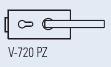 Zámek LIBRA PZ CP (V-720 PRO VLOŽKU chrom perla)