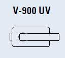 Zámek I-LOCK UV/matný nikl (V-900 UV/NS)