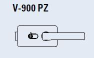 Zámek I-LOCK PZ/matný chrom (V-900 PZ/CS)