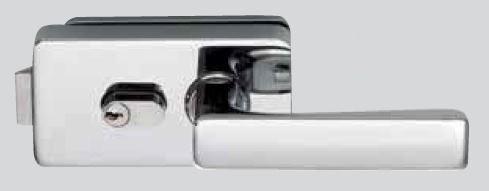 Zámek I-LOCK WC/matný chrom (V-900 WC/CS)