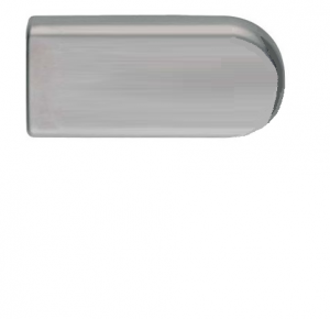 Zámek ECONOMY 2FLG/broušená nerez (V-200 ECO 2FLG/IX)
