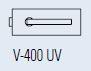 Zámek FERRARI UV/leštěná mosaz (V-400 FERRARI UV/OL)