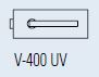 Zámek FERRARI UV/chrom perla (V-400 FERRARI UV/CP)