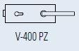 Zámek FERRARI PZ/matný chrom (V-400 FERRARI PZ/CS)