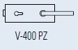 Zámek FERRARI PZ/matný nikl (V-400 FERRARI PZ/NS)